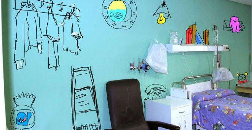 decoración hospital - MKT Salud