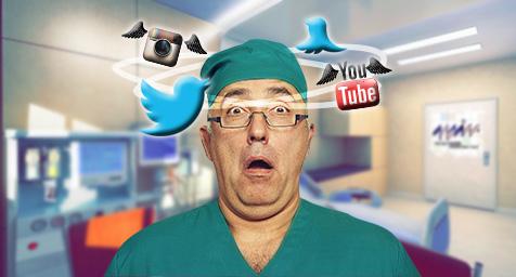 gestión de redes sociales de una clinica